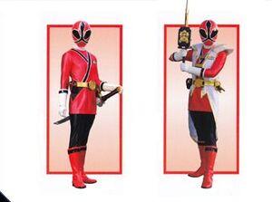 Female Red Samurai Ranger