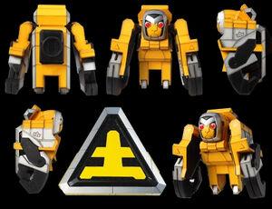 Ape Foldingzord