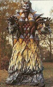 MMPR Dischordia forma con vestido