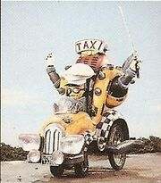 MMPR Crabby Cabbie