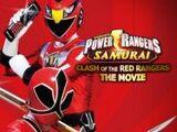 Power Rangers Samurái: El choque de los rangers rojos