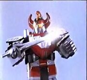 MMPR Dino Megazord con la Power Sword