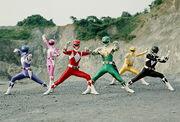 Zyurangers team
