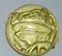 MMPR Moneda de poder ninja (Black Ranger)