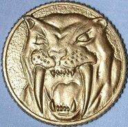 MMPR Moneda de poder (Yellow Ranger)