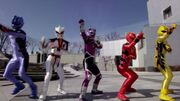 Super Megaforce as Jungle Fury