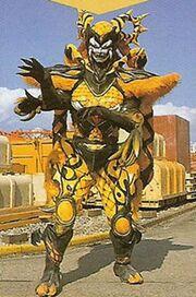 Psycho Yellow forma monstruo
