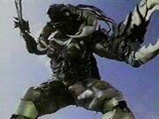Scorpina forma monstruo