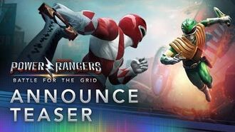Power Rangers Battle for the Grid - Announcement Teaser (Extended Cut)