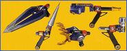 PRLR armas del Rescue Bird
