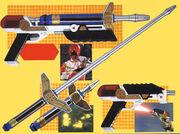 Zeo blade y pistola zeo laser