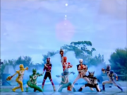 Jungle Fury Rangers
