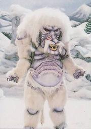 MMPR Snow Monster