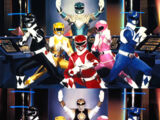 Mighty Morphin Power Rangers (equipo)