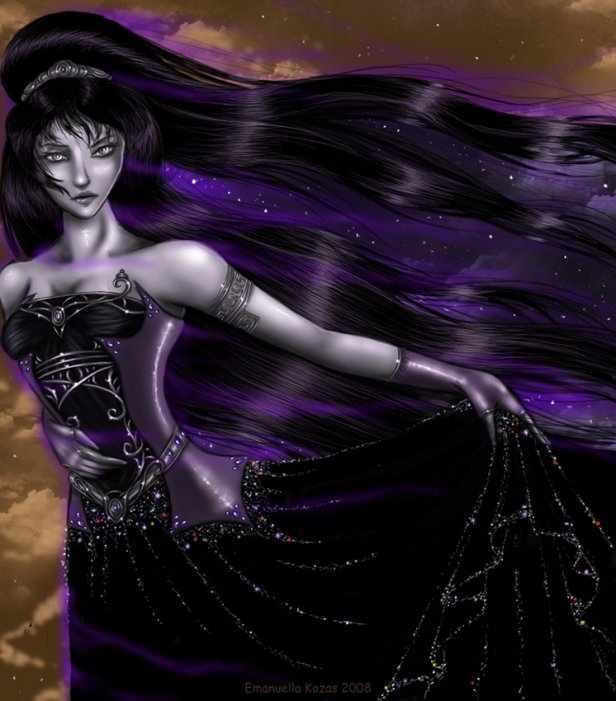 представлена твердой богиня ночи картинки ума