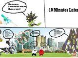 Comic 85: Zygarde Takes Steroids