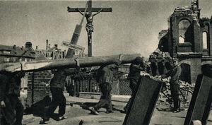 Zniszczony Poznań - Most Chwaliszewski
