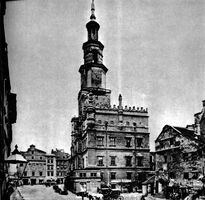 1890 - Stary rynek - Zaniedbana Waga Miejska