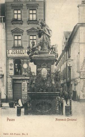 Św. Jan Nepomucen na Starym Rynku - Pocztówka