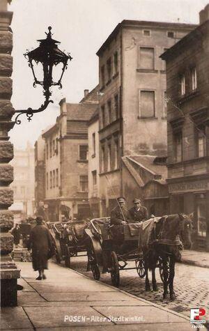 Dawna ulica Wiankowa - 1940