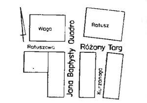 Uliczki na Starym Rynku 1988