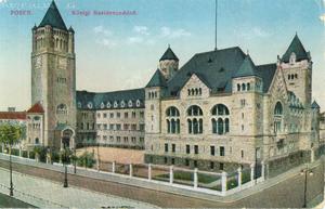 Posen - Konigl. Residenzschloss - Pocztówka