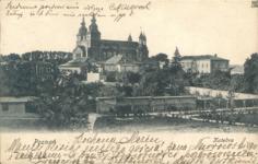 Ostrów Tumski i Pałąc Arcybiskupi - Pocztówka
