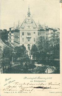 Provinzial-Feuersozietaet am Koenigsplatz - Pocztówka
