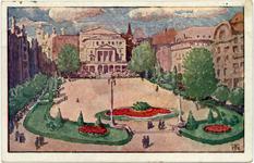 Plac Wolności - Pocztówka ( kolor )