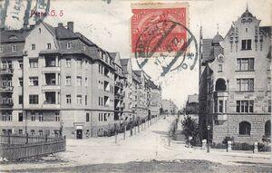Ulica Wierzbięcice - 191x
