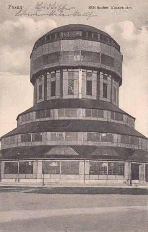 Wieża Górnośląska pocztówka