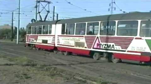 TRAMS IN POZNAN 1992