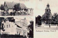 Kościół Matki Boskiej Królowej Korony Polskiej pocztówka