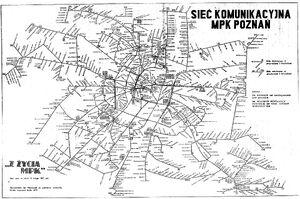 Schemat tras MPK 1987