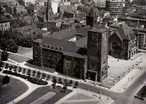 Zamek Cesarski - pocztówka 1963