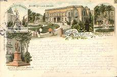 Brunnen a.d. Koenigsplatz - Pocztówka