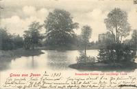 Botanischer Garten und 100 jaehrige Linde - 1903