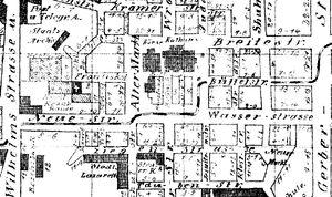 Stary Rynek linie tramwajowe 1893