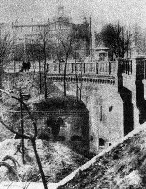Kaponiera zachodni przyczółek 1919