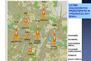 Policyjna mapa zagrozen poznan 2011