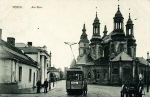 Am Dom - Katedra 1910