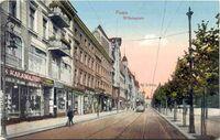 Plac Wolnosci - pocztówka - widok od ulicy