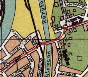 Most Tumski plan 1911