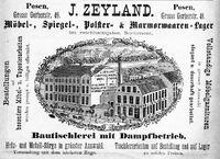 Fabryka Józefa Zeylanda - anons