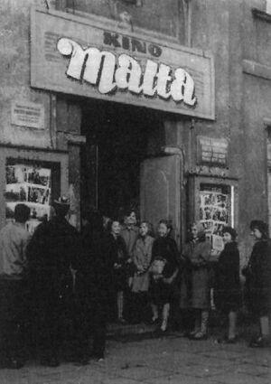 Kino Malta lata 50