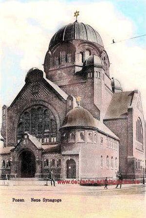Posen Neue Synagoge
