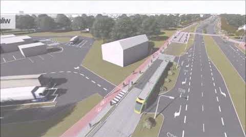 Tramwaj na Naramowice - wirtualny przejazd