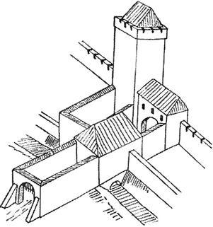 Brama Wroniecka XV węzeł
