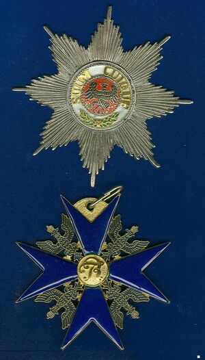Hoge Orde van de Zwarte Adelaar Pruissen