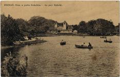 Park Sołacki (staw) - Pocztówka